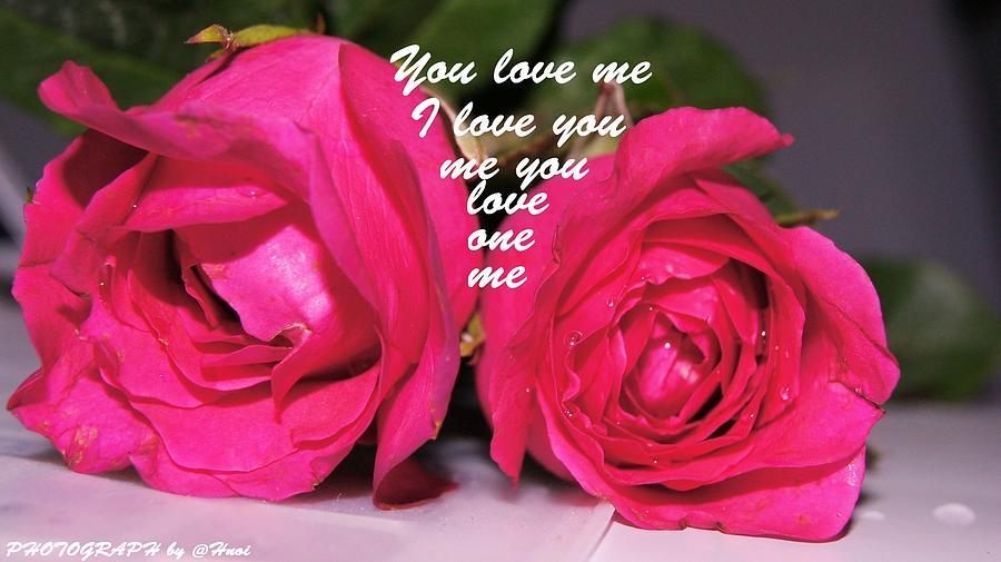 Roses For You Photograph by Gornganogphatchara Kalapun