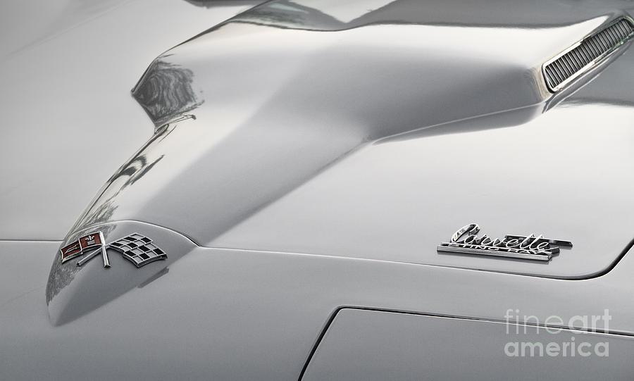 1965 Corvette Photograph - 396 Corvette by Dennis Hedberg