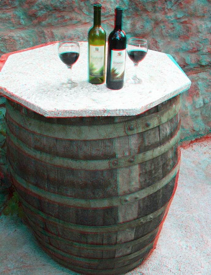 3D RED/CYAN Anaglyph stereoscopic  Photograph by Dimitrija Angelkov