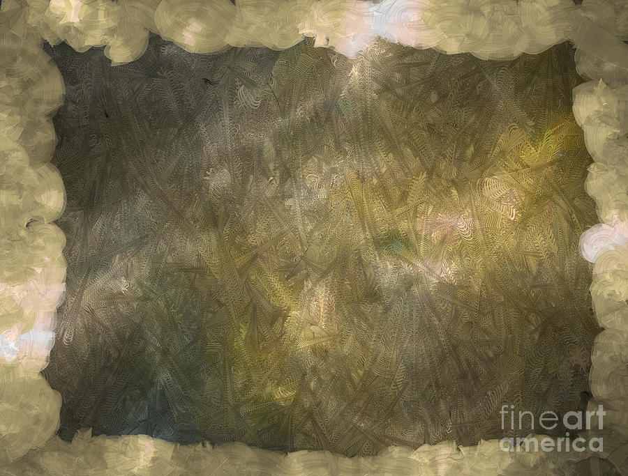 Autism Awareness Digital Art - 3D Zone Brown by Holley Jacobs