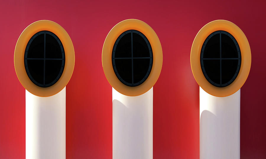 Architecture Photograph - 3x0 by Hans-wolfgang Hawerkamp