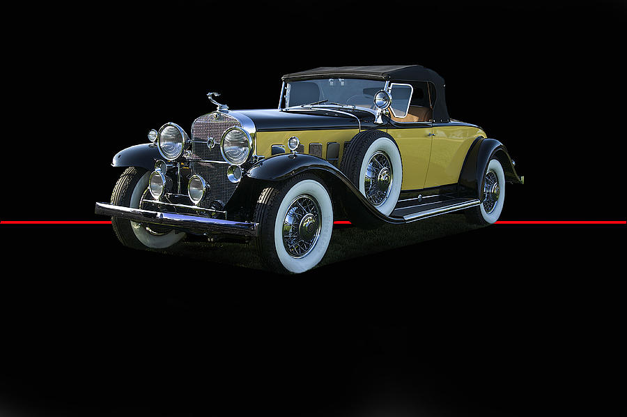 1929 Cadillac Convertible Coupe Photograph