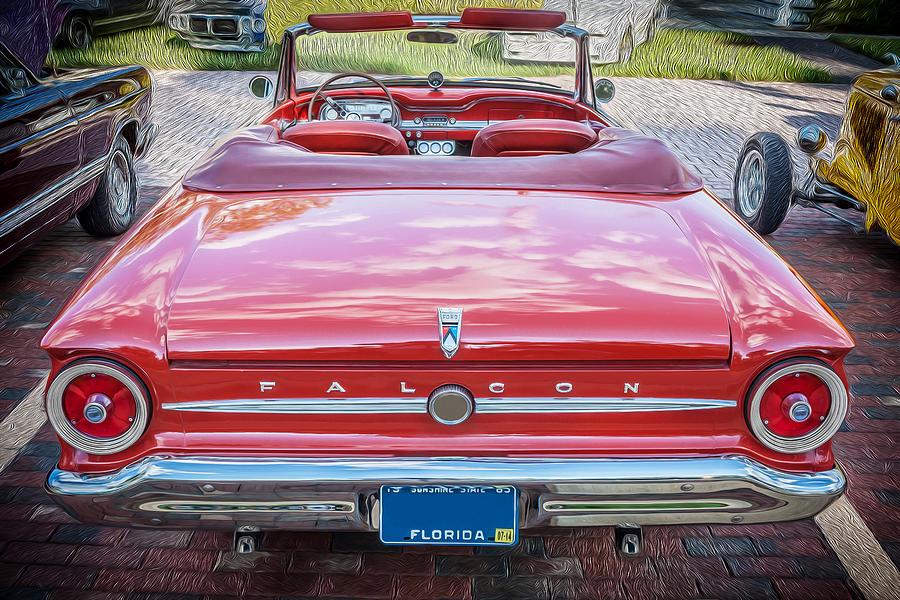 Rich Franco Photograph - 1963 Ford Falcon Sprint Convertible  by Rich Franco