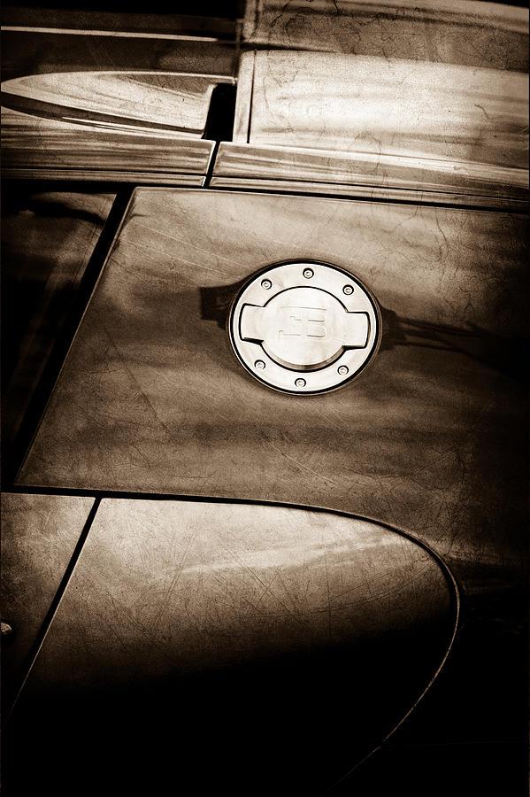 2008 bugatti veyron emblem photograph by jill reger. Black Bedroom Furniture Sets. Home Design Ideas