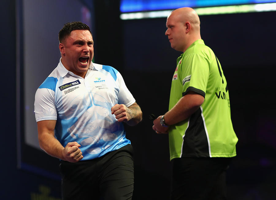 2018 William Hill PDC World Darts Championships - Day Eleven Photograph by Naomi Baker