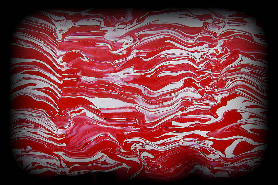 Red Painting - Abstract 85 by J D Owen