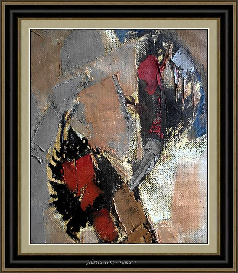 Abstract Landscape Painting - Abstraction by Pemaro