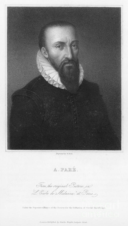 16th Century Photograph - Ambroise Pare (1517?-1590) by Granger