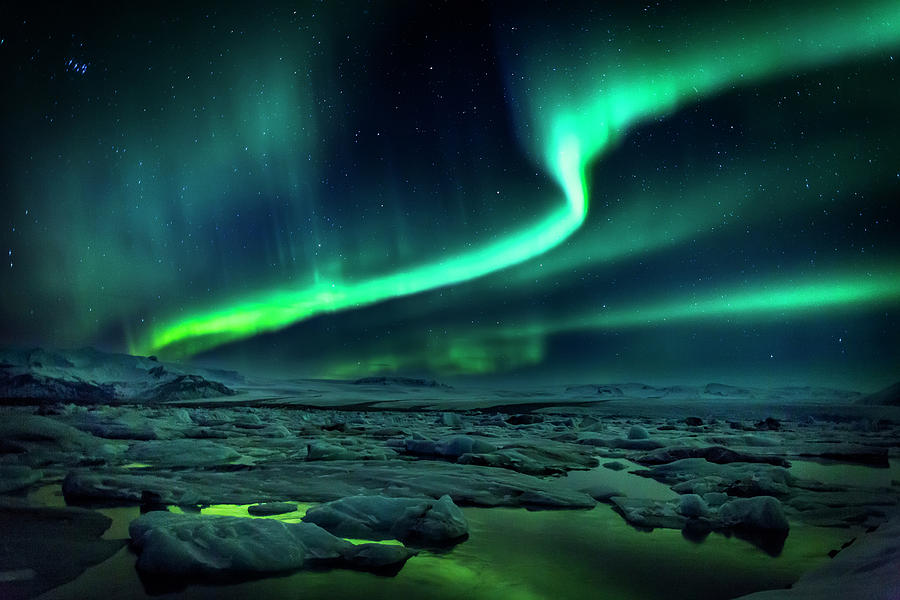 Aurora Borealis Or Northern Lights Photograph by Arctic-images