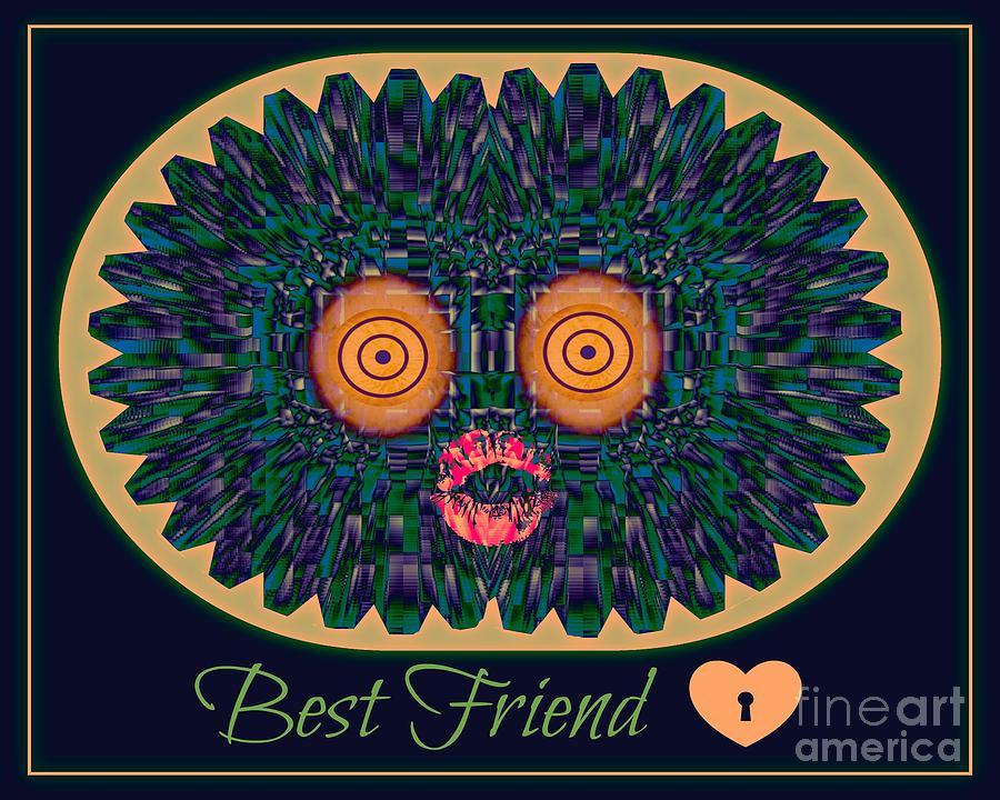 Friends Digital Art - Best Friend by Meiers Daniel