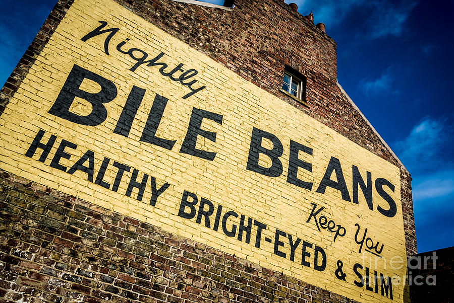 Bile Beans Photograph - Bile Beans Advertising by Bailey Cooper
