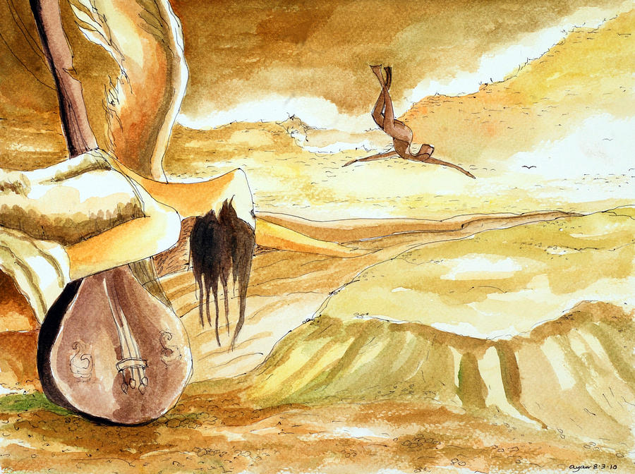 Birth Of A Song Painting by Ayan  Ghoshal