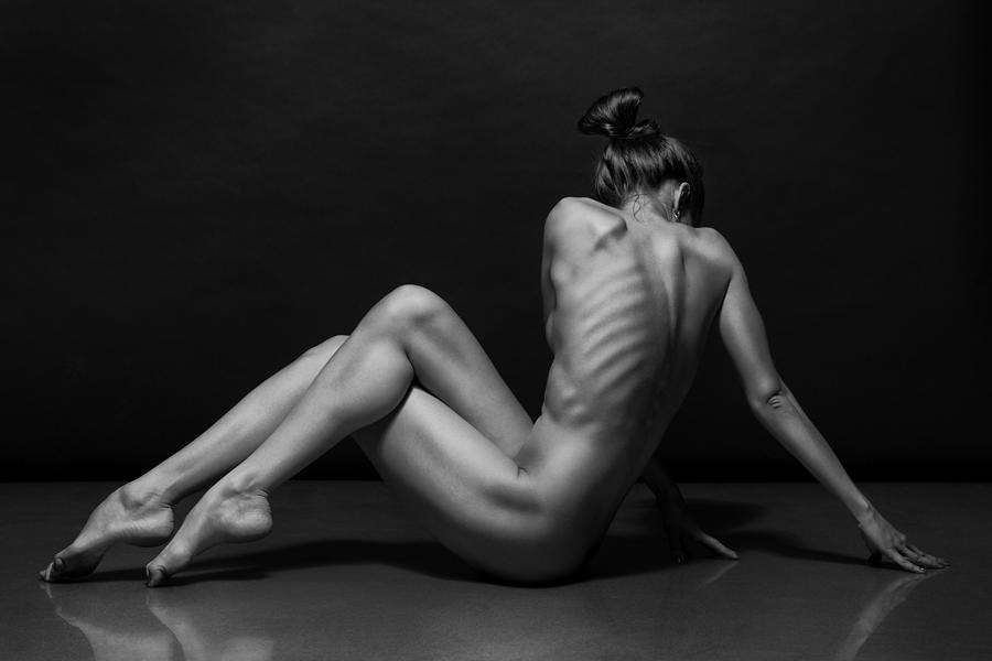 Naked woman's body photography art prints and posters by philip elberling