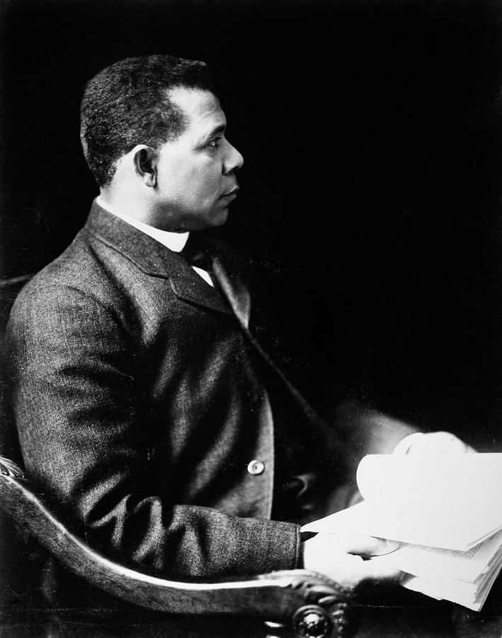1902 Photograph - Booker T by Granger