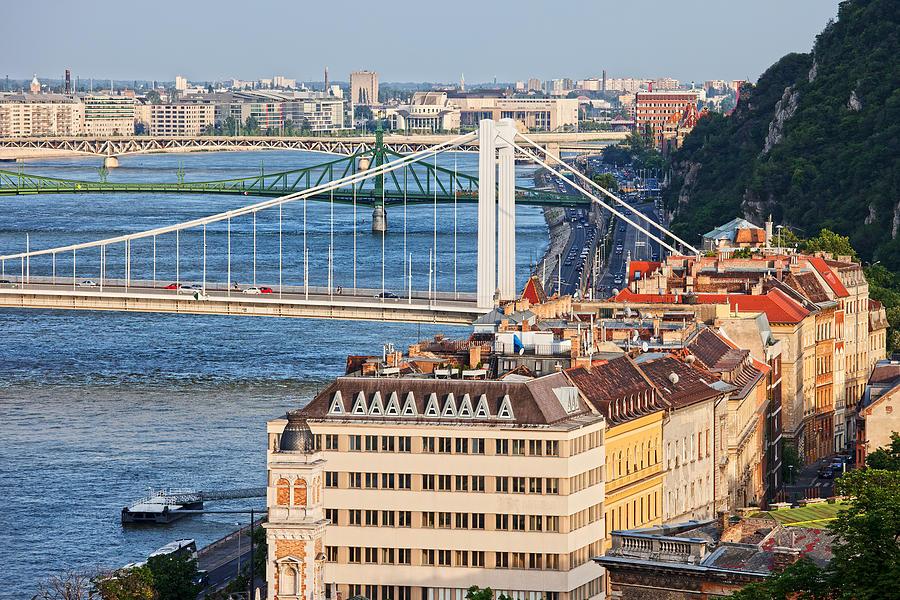 Budapest Photograph - Budapest Cityscape by Artur Bogacki