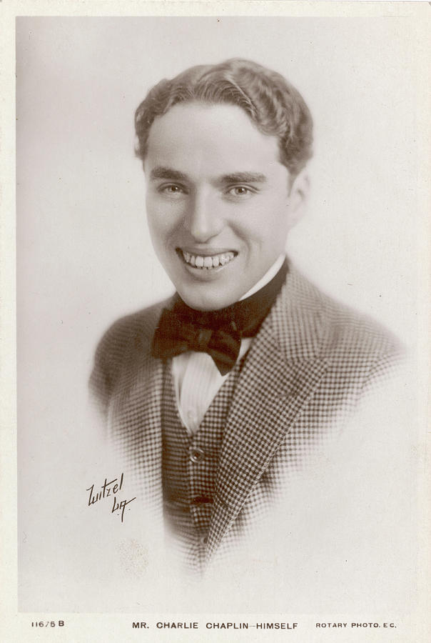 Charlie Photograph - Charlie Chaplin (sir Charles Spencer) by Mary Evans Picture Library