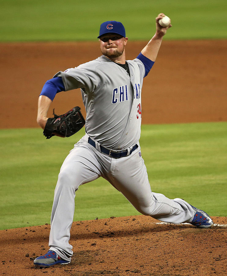 Chicago Cubs V Miami Marlins 4 Photograph by Mike Ehrmann