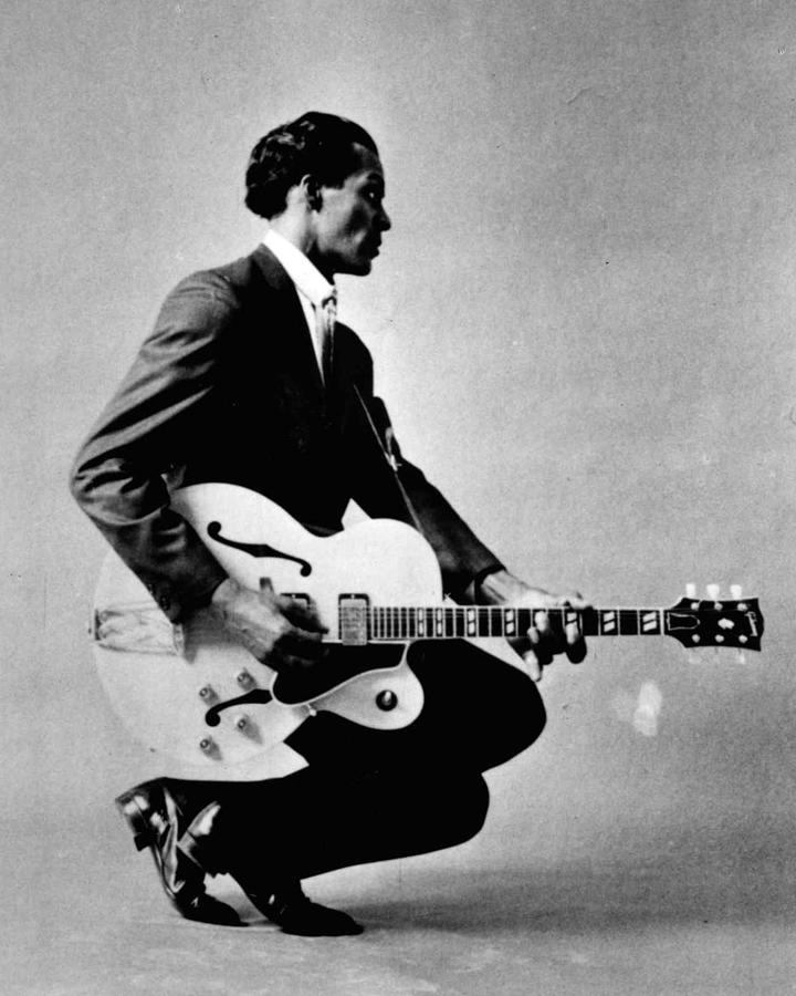 Classic Photograph - Chuck Berry by Retro Images Archive