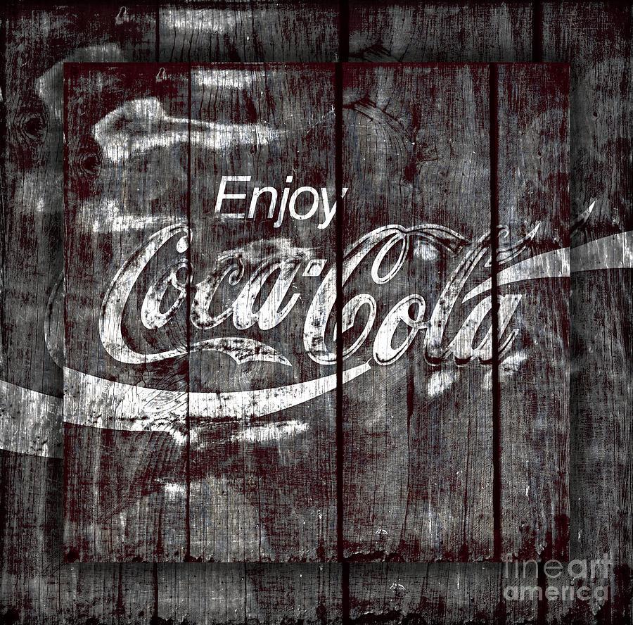 Coca Cola Photograph - Coca Cola Sign by John Stephens