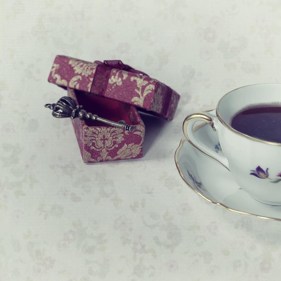 Box Photograph - Coffee Time by Joana Kruse