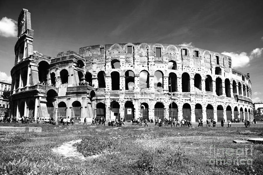 Rome Photograph - Colosseum by Stefano Senise