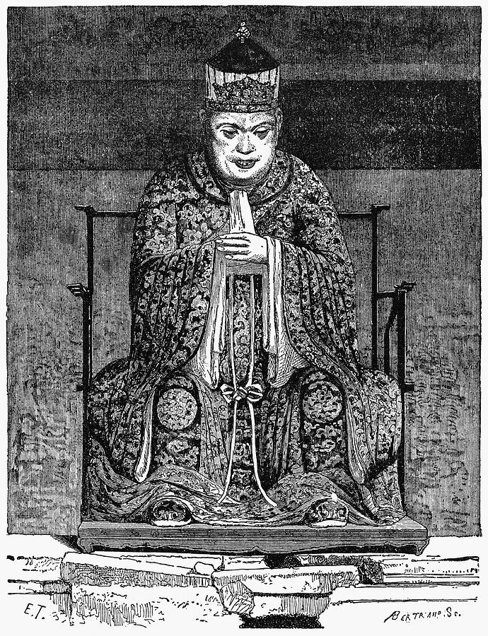 6th Century B.c Painting - Confucius (c551-479 B by Granger