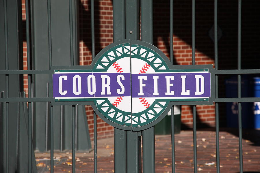American Photograph - Coors Field - Colorado Rockies by Frank Romeo