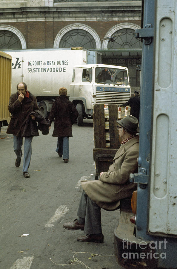 Market Photograph - Covent Garden Market 1973 by David Davies