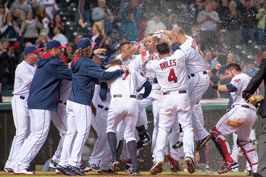 Detroit Tigers V Cleveland Indians Photograph by Jason Miller