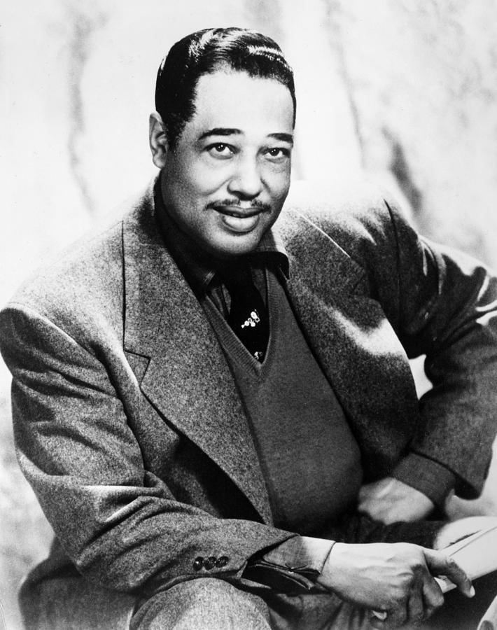 1955 Photograph - Duke Ellington (1899-1974) by Granger