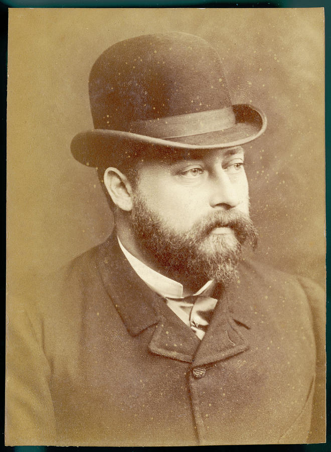 Edward Photograph - Edward Vii, British Royalty As Prince by Mary Evans Picture Library