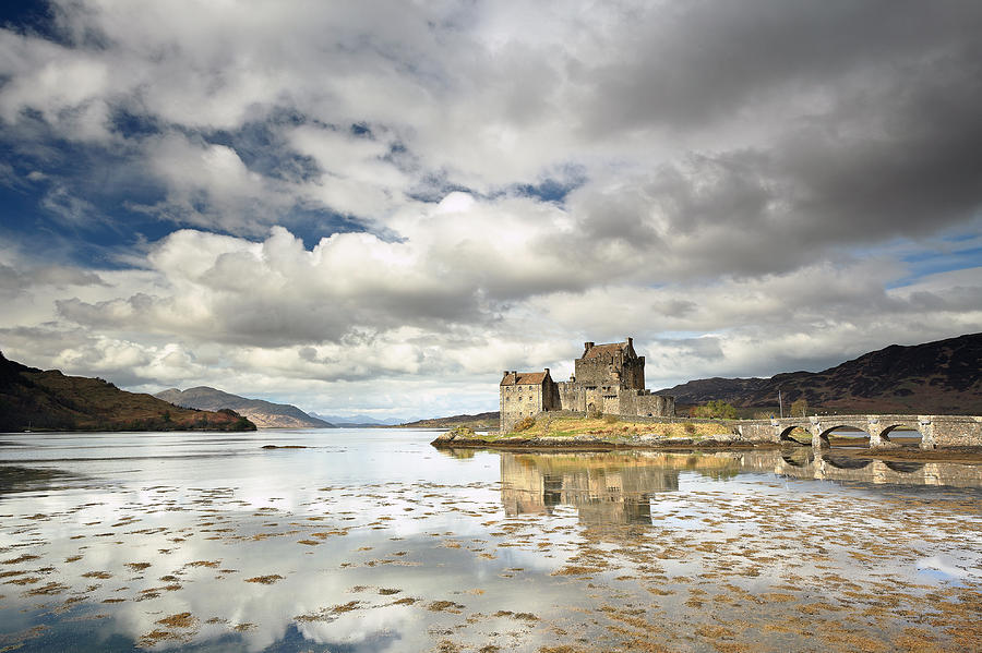 Eilean Donan Photograph - Eilean Donan Castle by Grant Glendinning