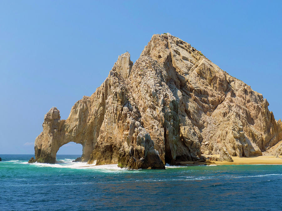 Baja Photograph - El Arco, The Arch, Cabo San Lucas by Douglas Peebles