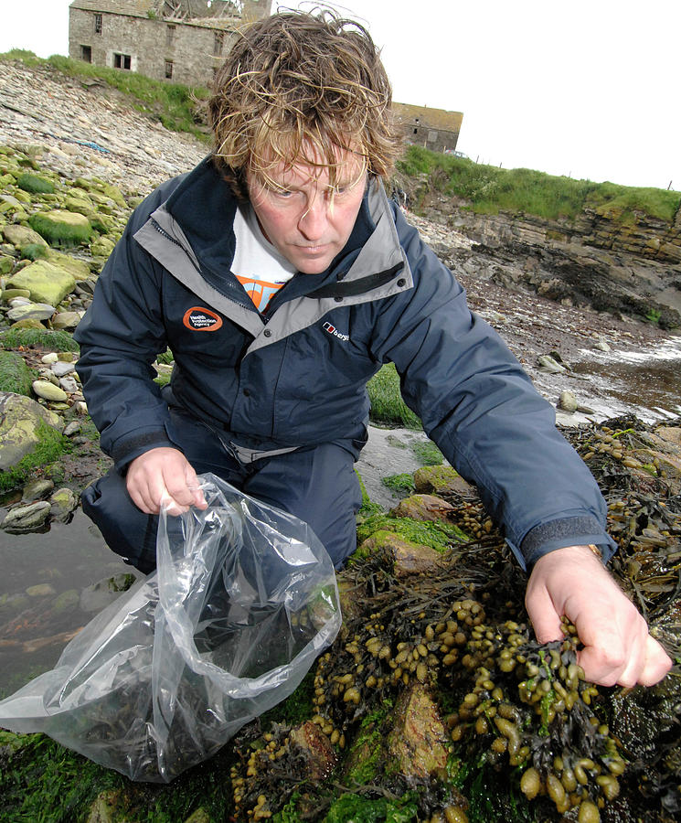 Human Photograph - Environmental Monitoring by Public Health England