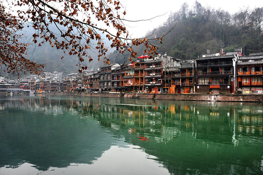 Fenghuang Ancient Town Photograph by Melindachan