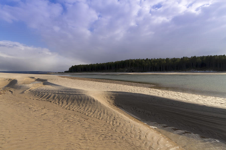 Scotland Photograph - Findhorn Bay by Karl Normington
