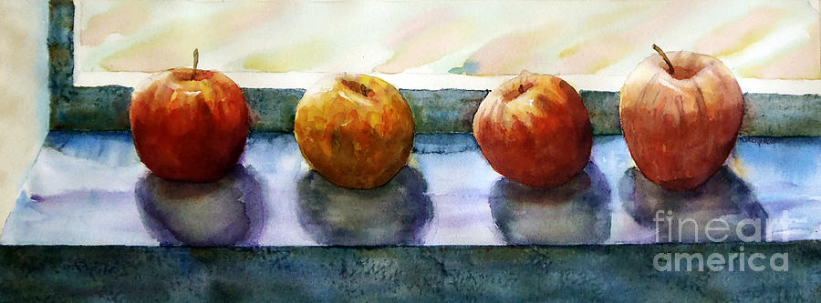 Still Life Painting - 4 Friends by Marisa Gabetta