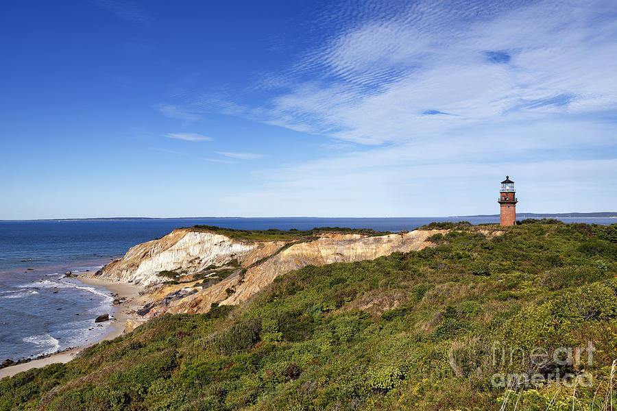 Aquinnah Photograph - Gay Head Lighthouse by John Greim