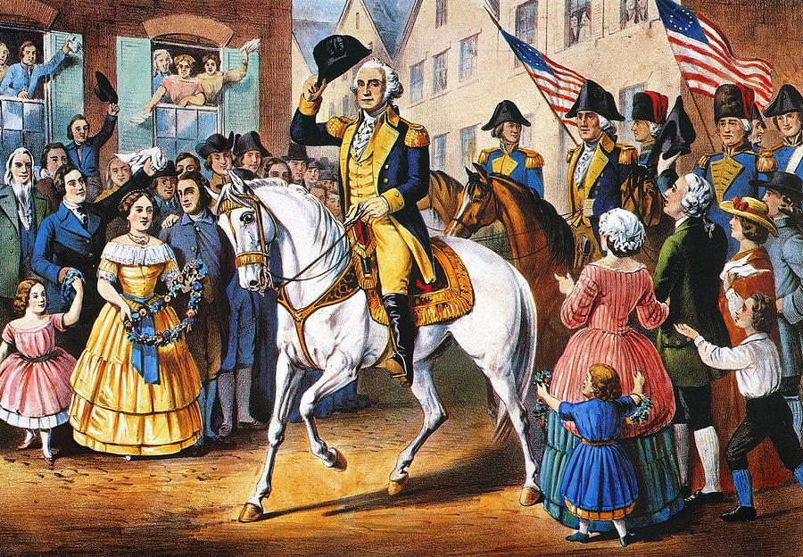1783 Photograph - George Washington by Granger