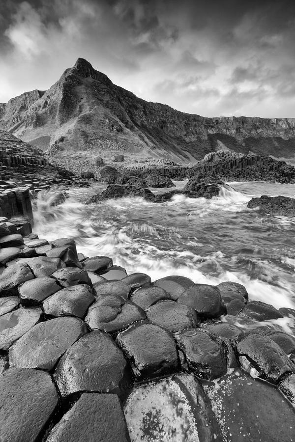 Northern Ireland Photograph - Giants Causeway by Pawel Klarecki