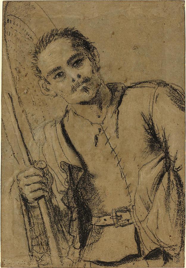 Giovanni Drawing - Giovanni Francesco Barbieri, Called Guercino Italian by Quint Lox