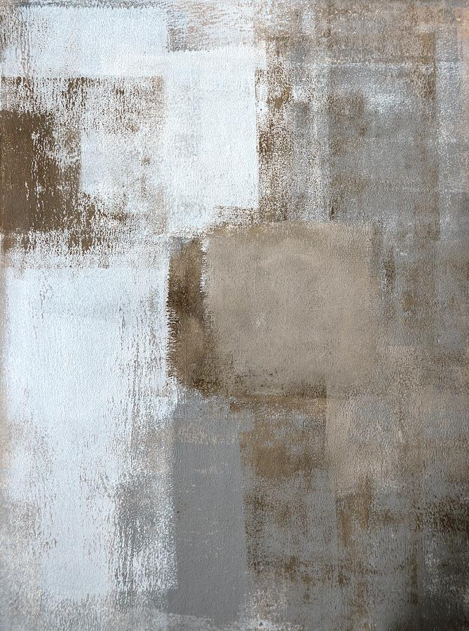 Large Neutral Abstract Art