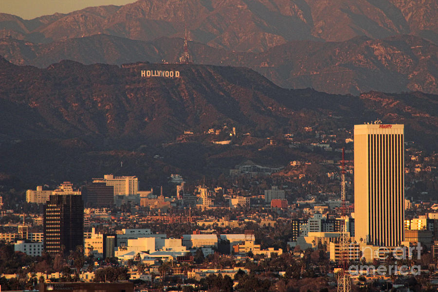 Hollywood Sign Photograph by RJ Aguilar