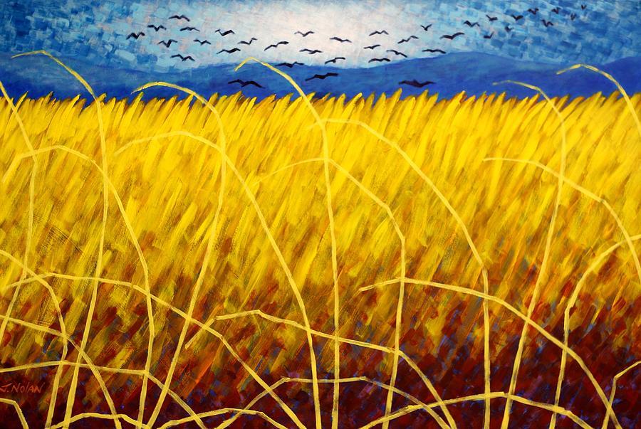 Acrylic Painting - Homage To Van Gogh by John  Nolan