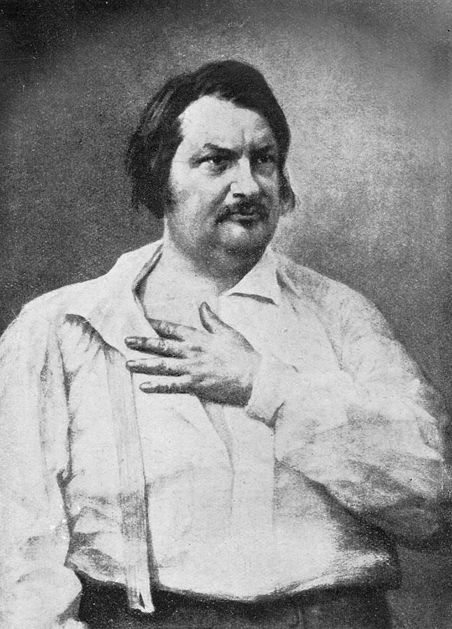 Honore De Balzac 1799 1850 French