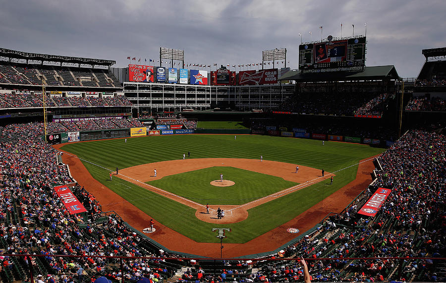 Houston Astros V Texas Rangers Photograph by Tom Pennington