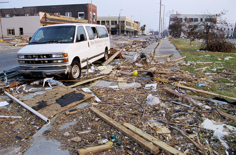 Hurricane Katrina Damage Photograph by David Hay Jones ...