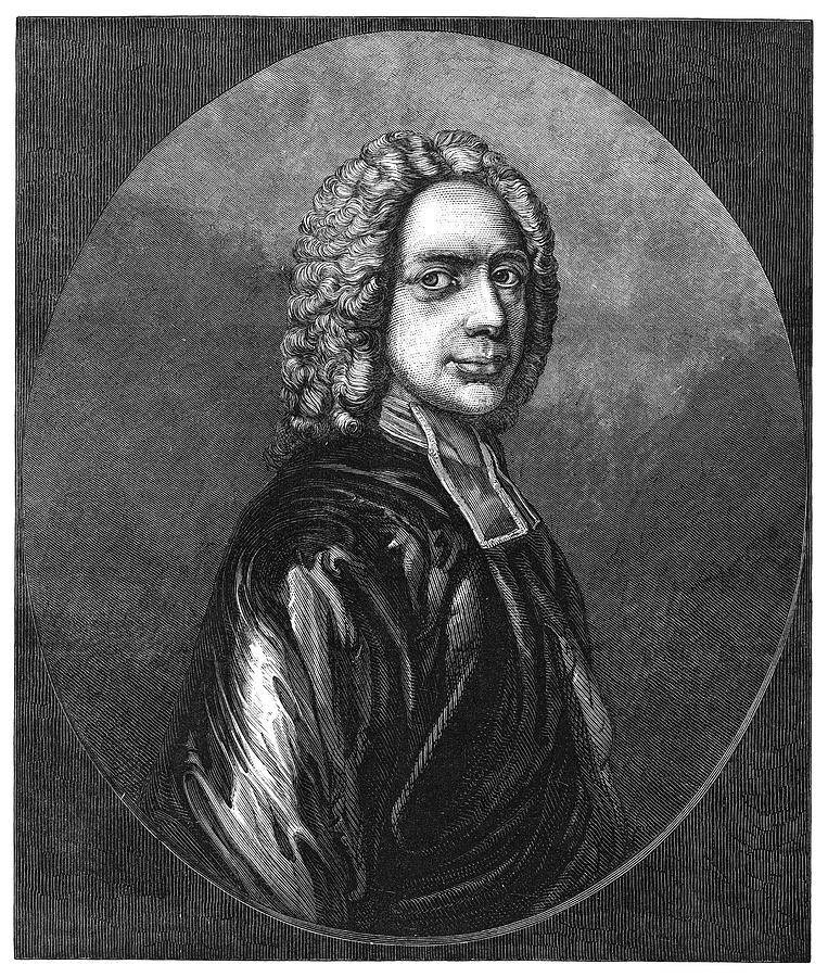 17th Century Painting - Isaac Watts (1674-1748) by Granger