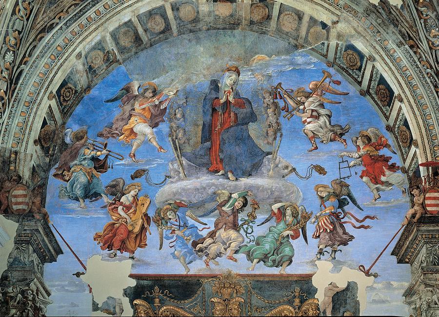 Italy, Lazio, Rome, Santa Maria Sopra Photograph by Everett