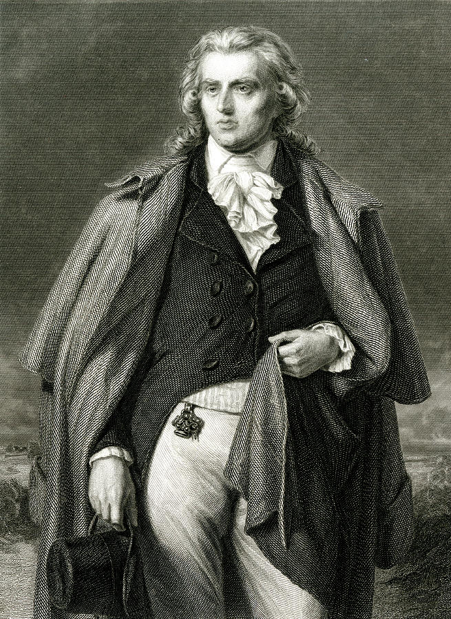 Johann Christoph Friedrich Schiller Drawing by Mary Evans Picture ...